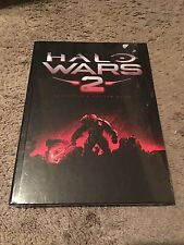 Halo Wars 2 Collectors Edition Official Hardcover Strategy Guide W/E-Guide, NEW