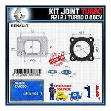 Joints Turbo 2.1 Turbo D 88 Cv Renault R21  Garrett TA0305 465764-1