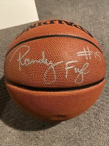 Randy Foye Signed NBA Spalding Basketball Villanova Timber wolves Clippers