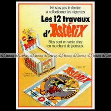 Les 12 Travaux d'ASTERIX Vignettes DARGAUD (1977) : Pub / Publicité / Ad #A1254