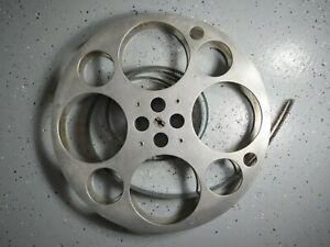 "GOLDBERG STYLE VINTAGE 35mm Film Reel app. 17"" Aluminum, not marked, read below"