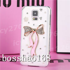 Bling Crystal Diamond Thin Clear Soft TPU Back Shell Case Cover For Samsung #1