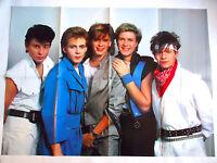 DURAN DURAN POSTER 1980s Simon Le Bon Nick Rhodes John Taylor Roger Taylor