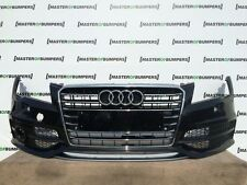 AUDI A7 S7 UP TO 2014 FRONT BUMPER IN BLACK WITH ALU LIP SPOILER [A49]