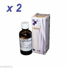 2x EDTA 17% Root Canal Preparation Solution i-EDTA Dental Supplies Free Shipping