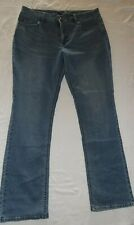 WOMENS RIDERS LEE MID RISE STRAIGHT LEE JEANS 18 M