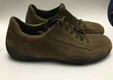 Patagonia Suede Soft Leather Olive Brown Mens Comfort Shoes Sz.12-usa