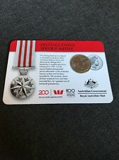2017 Legends of the Anzacs Medal Collection Distinguished Service Medal  COIN 9