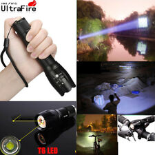 Ultrafire Zoomable Tactical 50000LM LED T6 LED Flashlight 18650 Torch Light Lamp