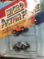 Micro Action Force - 2 Vehicle Pack - RARE - MOC - vintage