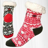 Chaussettes Thermo Hiver Peluche Antidérapantes Semelle ABS Boutons Fur Knitwear