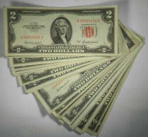 1963 2 Dollar Certificate #E1117OO