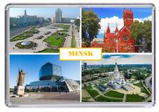 Minsk, Belarus Fridge Magnet 01