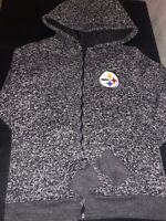NFL Women's Team Apparel Pittsburgh Steelers Zip Up Jacket Size Small