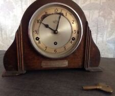 Wooden Vintage Art Deco Antique Clocks