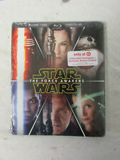 New Sealed Blu-Ray DVD Digital HD Star Wars the Force Awakens Target Exclusive