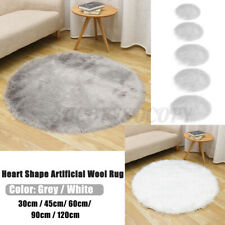 Sheepskin Rug Faux Soft Fluffy Carpet Door Area Rug Room Floor Bedroom Mat  <