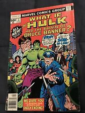 What If? #2 The Hulk Had Brain of Bruce Banner Marvel 1977