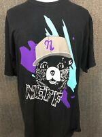 Neff 'Smokey the Bear' Unisex Graphic Short Sleeve T-shirt XL