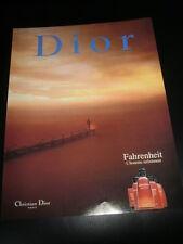 CHRISTIAN DIOR FAHRENHEIT  PERFUME PARFUM AD PUBLICITE ANUNCIO - SPANISH - 2126