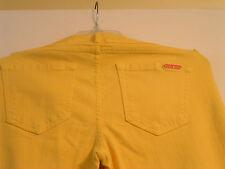 IVANKA TRUMP Yellow Cotton Jeans  Women's size 6 style ITA04530 NWT
