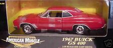 1967 Buick GS 400 Red 1:18 Ertl American Muscle 33085