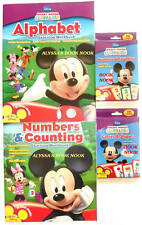 Disney'S ~Mickey Mouse Clubhouse Learning Package~ Workbooks Flashcards