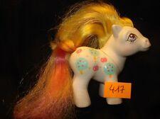 MON PETIT PONEY *my little pony N°417 Hasbro China 1984 baby