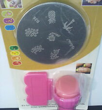 KIT NAIL ART STAMPING SET Modello B26