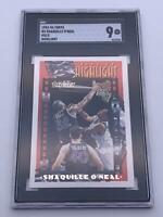 American Basketball Card💎Shaquille O'Neal SCC 9💎1993-94 Topps Highlight🌟#3🌟