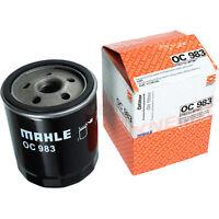 Original MAHLE / KNECHT Ölfilter OC 983 Oil Filter