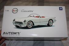 Chevrolet Corvette Roadster 1953, Polo White, Autoart 71081, 1:18, Rare. New