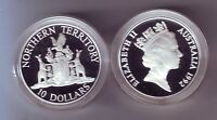 1992 Silver Proof $10 Coin Northern Territory ex Australia State Series Set