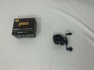 lews gx3 super duty left hand retrieve used with box and instructions