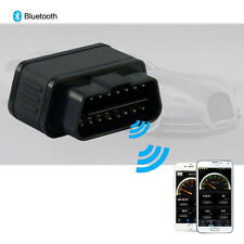 1pc Car Diagnostics Tool Black OBD2 Diagnostic Scanner Wifi Bluetooth ELM327