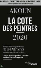 AKOUN la cote des Peintres edition 2020