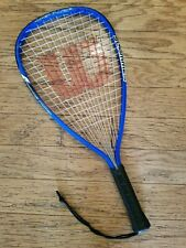 Wilson Crushing Power hyper alloy Racquetball Racquet racket blue tennis ball