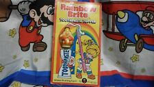 Colorforms Rainbow Brite Twink Toothpaste Topper 1983 Brand New Rare