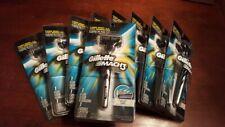 5x Gillette Mach3 RAZOR Handle+Refill Cartridge Shaver