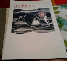 """2 Incubus Lithograph Art From Melodies And Monuments 11"""" × 17""""  Lot of 2 (D2)"""