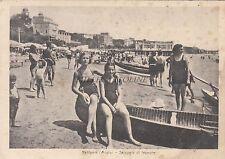 * NETTUNIA (Anzio) - Spiaggia di levante, Donne in Costume (Fot.Berretta) 1940