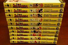 Lot of 10 Inuyasha (between 3 and 17) Manga English Set
