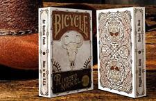 CARTE DA GIOCO BICYCLE PLUGGED NICKEL rusted tin,poker size