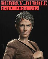 1/6 Carol Peletier Head Sculpt The Walking Dead Battle Version USA IN STOCK