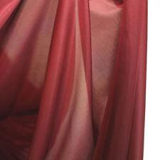 bordeaux JERSEY mit Glanz weich blickdicht Bekleidungs Stoff elastisch Meterware