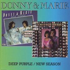 Donny and Marie - Osmond - Deep Purple - New Season - CD - New