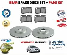 FOR LEXUS IS200D IS220D IS250 2005--> NEW REAR BRAKE DISC VENTED + PADS KIT