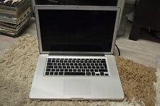 """Apple MacBook 15.4"""" a1286 Intel Pro i7 HDD 2.66ghz 500gb 8gb ddr3"""