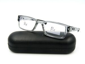 Oakley AIRDROP OX8046-0353 Men's Eyeglasses Frame, Grey Shadow. 53-18-143 #43I
