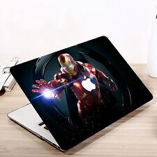 Super-Hero Hard Shell Case Cover & Keyboard Skin Fit For Apple Mac Book Macbook